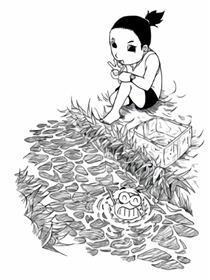 小鸡鱼的故事漫画