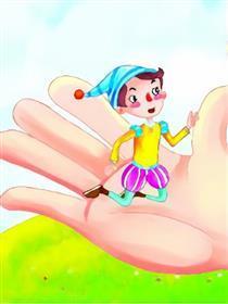 大拇指汤姆漫画