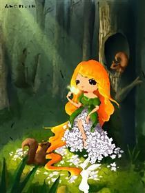 森林公主漫画