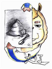 羊驼大辽漫画