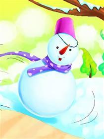 雪孩子漫画